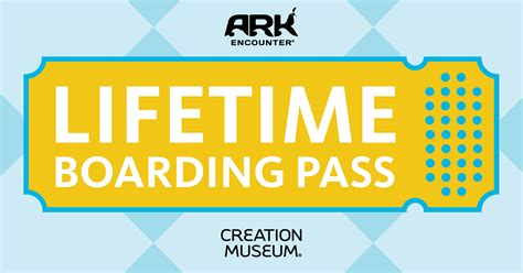 5 Reasons to Get a Lifetime Boarding Pass   Creation Museum